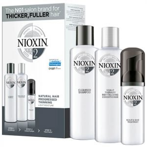Nioxin 3-Part System Trial Kit 2 For Natural Hair With Progressed Thinning