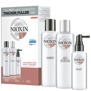 Nioxin 3-Part System Trial Kit 3 For Colored Hair With Light Thinning