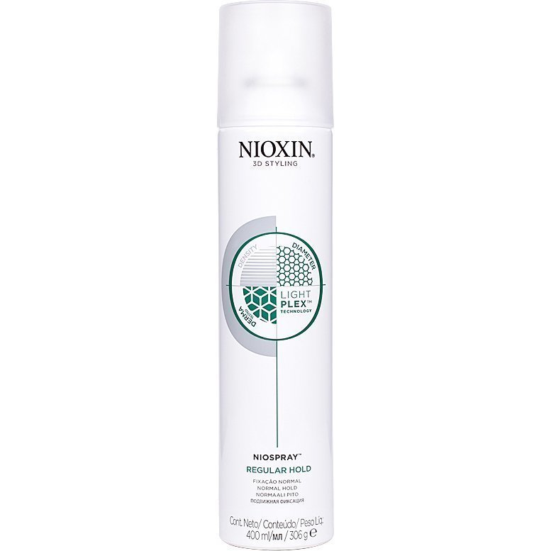 Nioxin 3D Styling Niospray Regular Hold 400ml