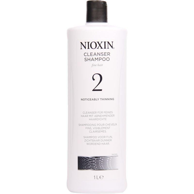 Nioxin System 2 Cleanser Shampoo (Fine Hair) 1000ml