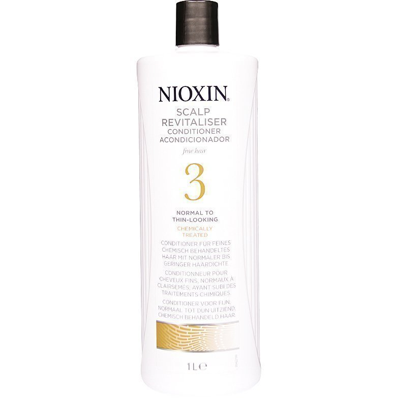 Nioxin System 3 Scalp Revitaliser Conditioner (Fine Hair) 1000ml