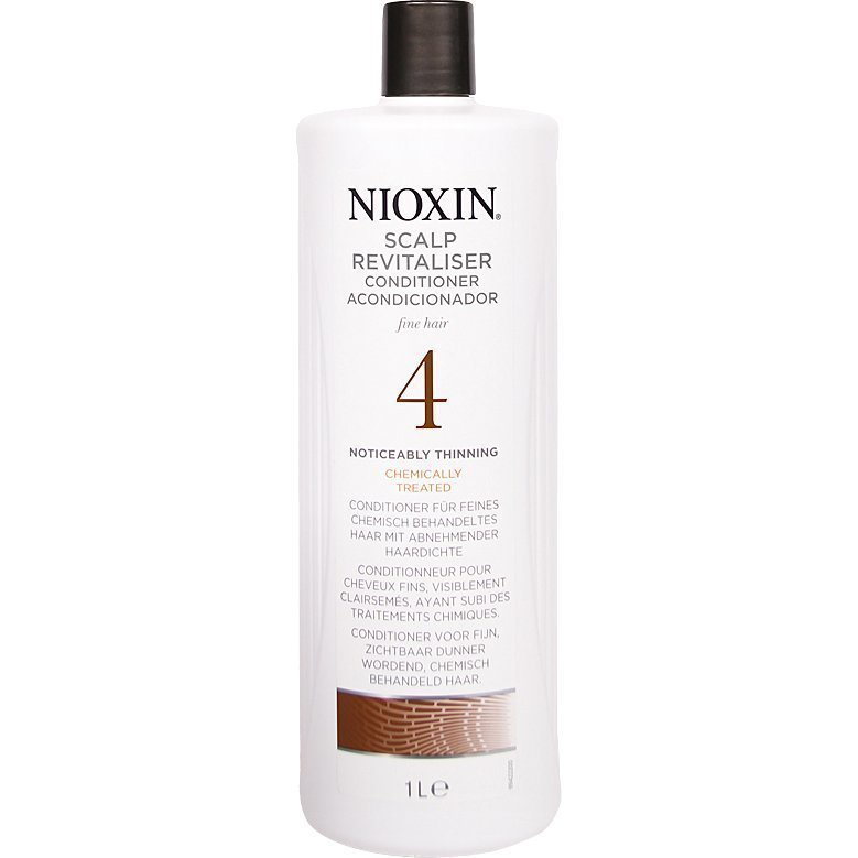 Nioxin System 4 Scalp Revitaliser Conditioner (Fine Hair) 1000ml