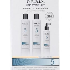 Nioxin Trial Kit System 5 Aloituspaketti Hiuksille 150 + 150 + 50 ml