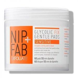 Nip+Fab Glycolic Fix Gentle Pads Sensitive 80 Ml