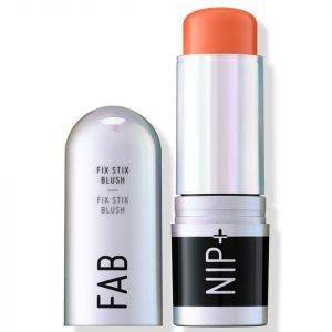 Nip+Fab Make Up Fix Stix Blush 14g Various Shades Electric Apricot