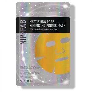 Nip+Fab Make Up Mattifying Oil Control Priming Sheet Mask 25 Ml