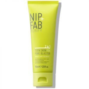 Nip+Fab Teen Skin Fix Pore Blaster 2-In-1 Scrub / Mask 75 Ml