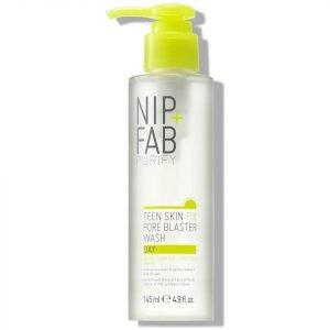 Nip+Fab Teen Skin Fix Pore Blaster Day Wash 145 Ml