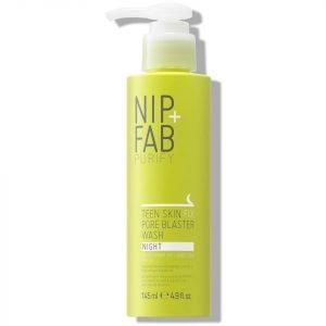 Nip+Fab Teen Skin Fix Pore Blaster Night Wash 145 Ml