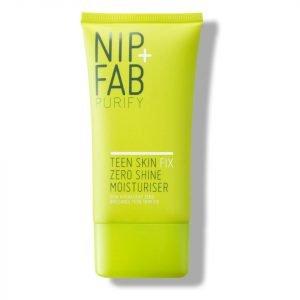 Nip+Fab Teen Skin Fix Zero Shine Moisturiser 40 Ml