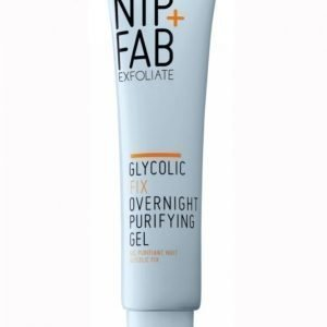 Nipandfab Glycolic Fix Overnight Purifying Gel 40 Ml Yövoide