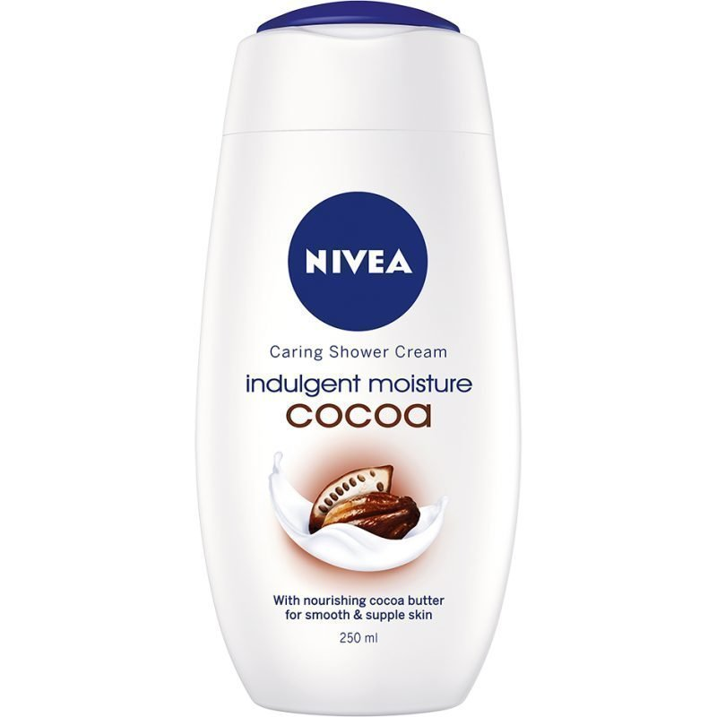 Nivea Caring Shower Cream Indulgent Moisture Cocoa 250ml