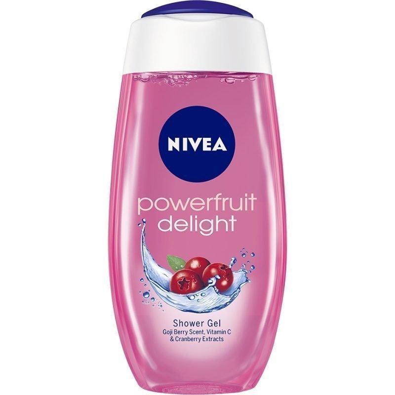 Nivea Caring Shower Gel Fresh Moisture Powerfruit 250ml