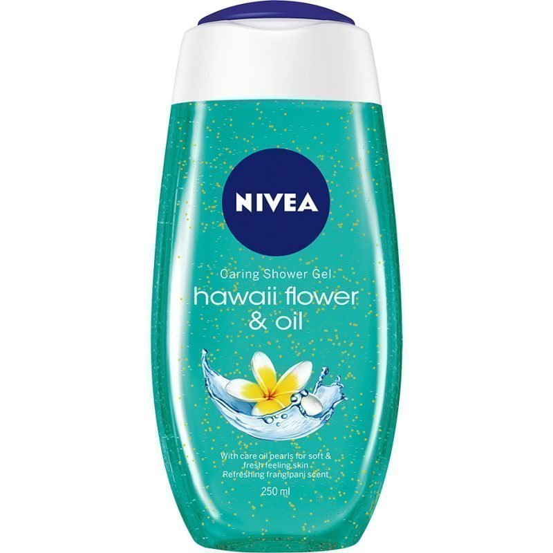 Nivea Caring Shower Gel Hawaii Flower & Oil 250ml