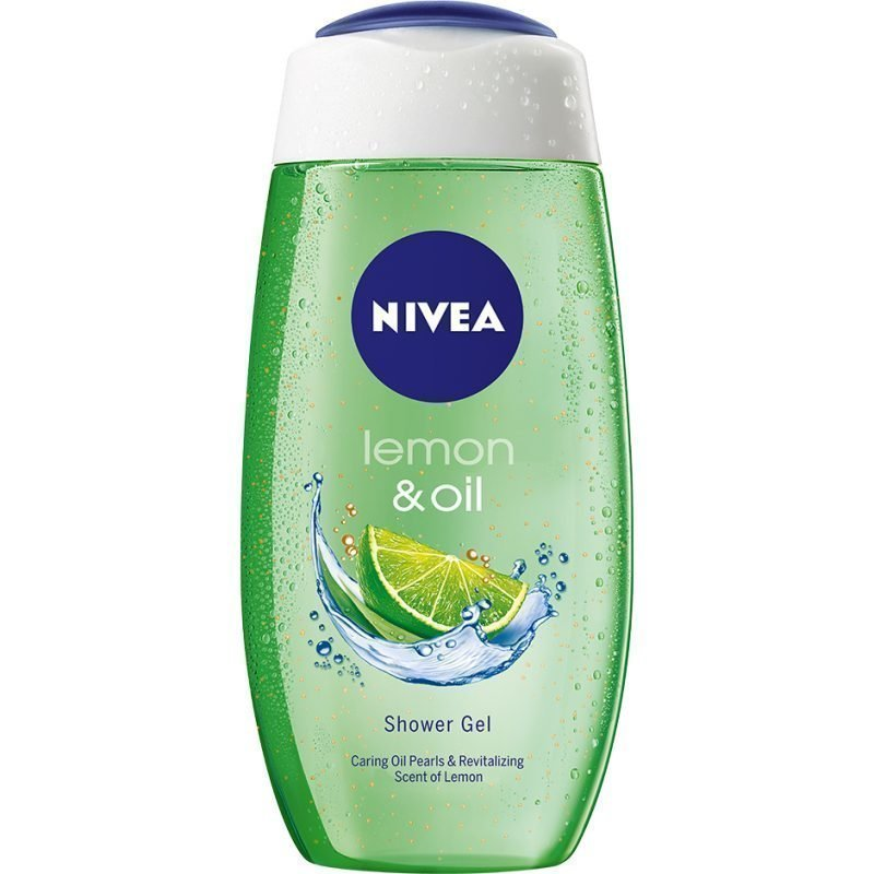 Nivea Caring Shower Gel Lemon & Oil 250ml