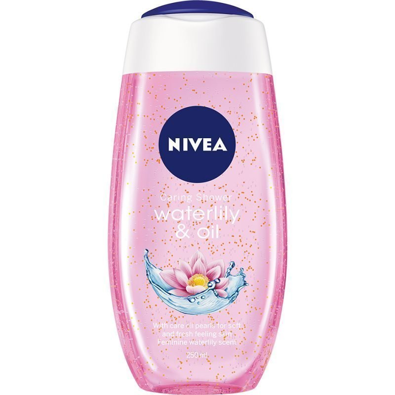 Nivea Caring Shower Gel Waterlily & Oil 250ml