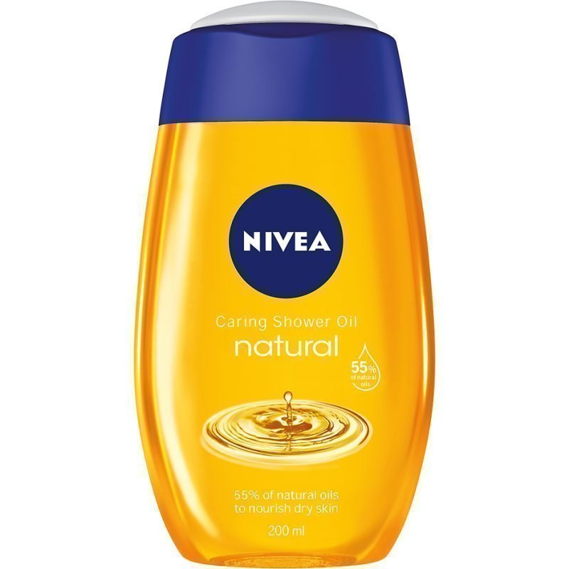Nivea Caring Shower Oil Natural 200ml