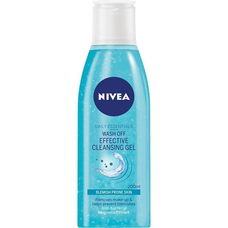 Nivea Daily Essentials Anti-Blemish Wash Off Effective Cleansing Gel 200ml