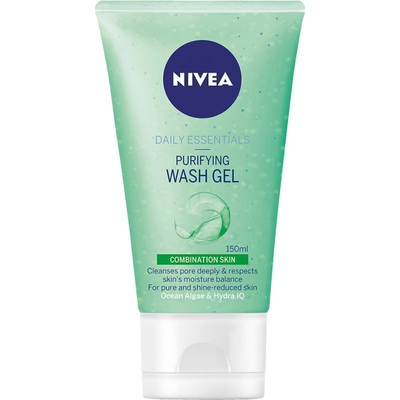 Nivea Daily Essentials Combination Skin Purifying Wash Gel 150ml