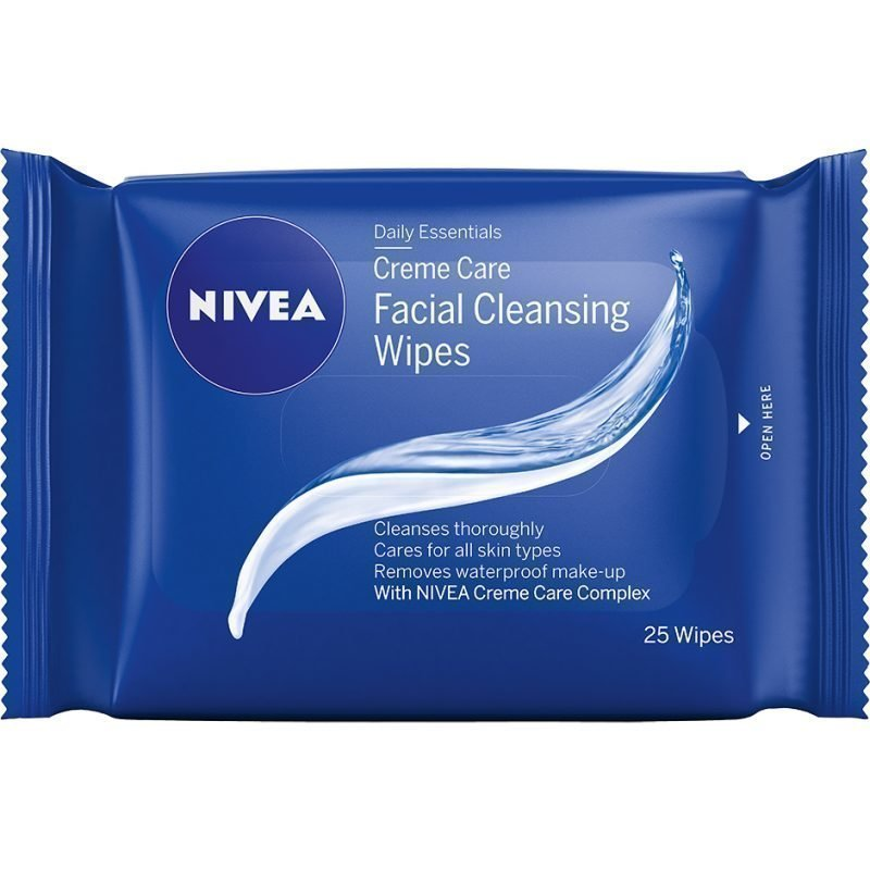 Nivea Daily Essentials Creme Care Cleansing Wipes 25st