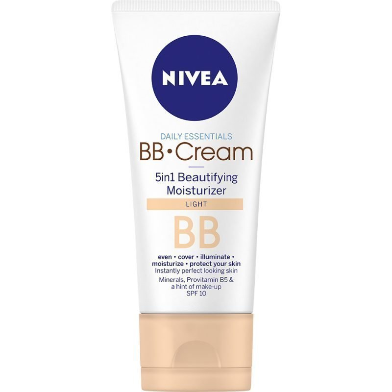 Nivea Daily Essentials Normal Skin BB Cream 5in1 Beautifying Moisturizer Light 50ml