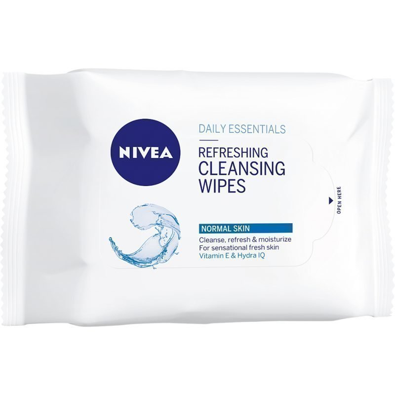Nivea Daily Essentials Normal Skin Refreshing Cleansing Wipes 25st