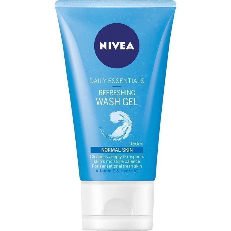 Nivea Daily Essentials Normal Skin Refreshing Wash Gel 150ml