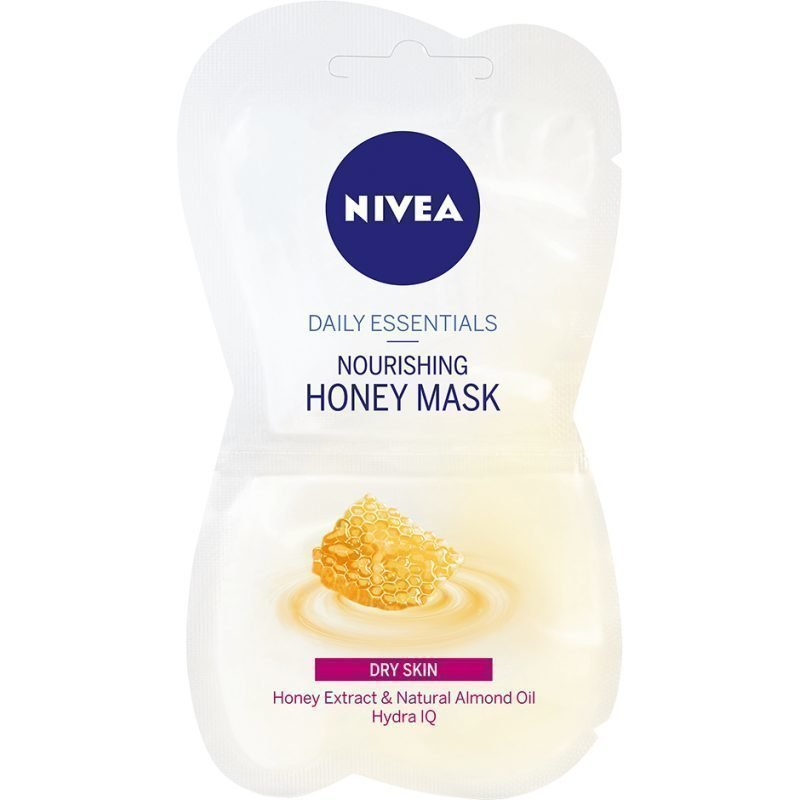 Nivea Daily Essentials Nourishing Honey Mask For Dry Skin 2x7