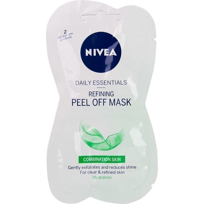 Nivea Daily Essentials Refining Peel Off Mask For Combination Skin 2x7