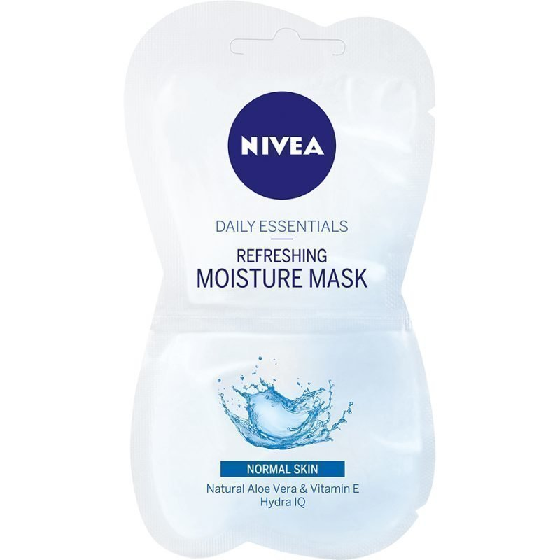 Nivea Daily Essentials Refreshing Moisture Mask For Normal Skin 2x7
