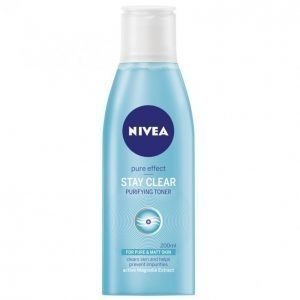 Nivea Daily Essentials Stay Clear Purifying Toner Kasvovesi 200 Ml