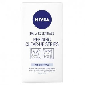 Nivea Essentials Refining Clear-Up Strips Puhdistuslaput 8 Kpl