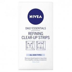 Nivea Essentials Refining Clear-Up Strips Puhdistuslaput 8 Kpl