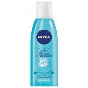Nivea Essentials Wash Off Puhdistusgeeli 200 Ml
