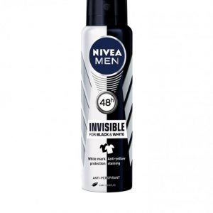 Nivea For Men Black & White Spray Power