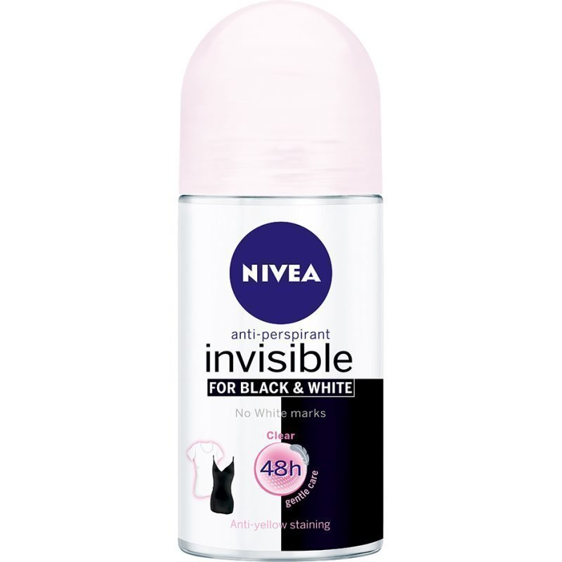 Nivea Invisible Black & White ClearOn 50ml