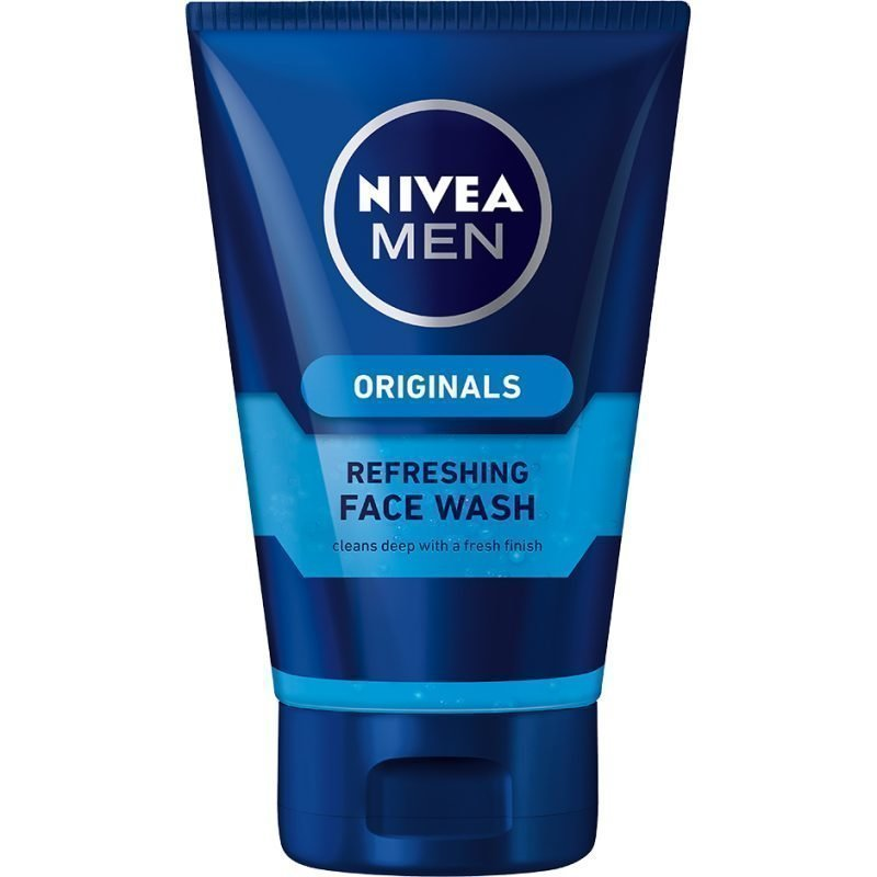 Nivea MEN Originals Refreshing Face Wash Gel 100ml