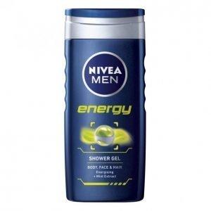 Nivea Men Energy Suihkusaippua 250 Ml