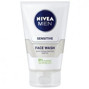 Nivea Men Sensitive Puhdistusgeeli 100 Ml