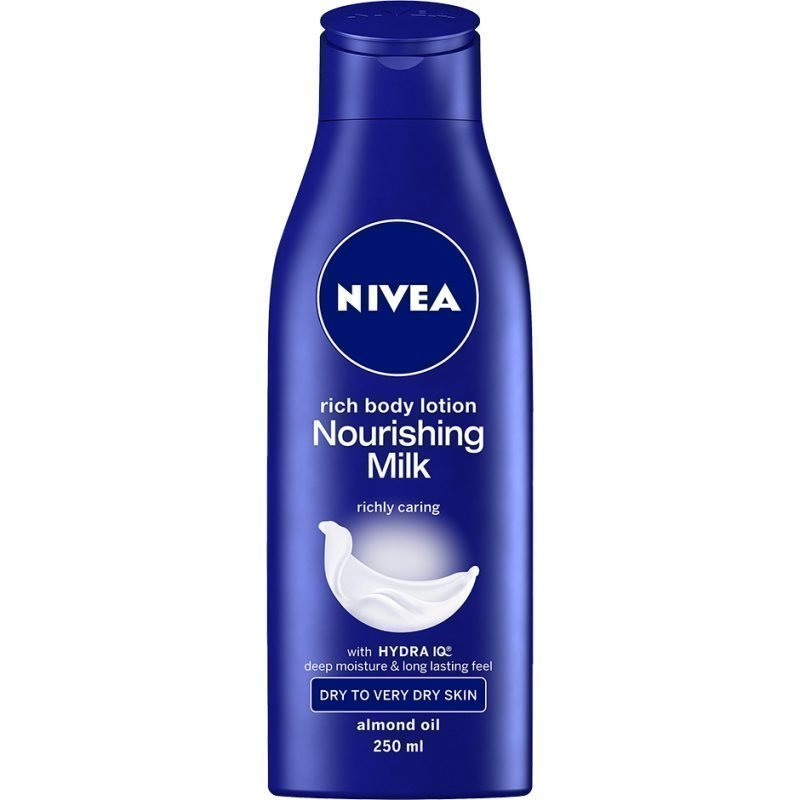 Nivea Nourishing Body Milk Dry to Very Dry Skin 250ml