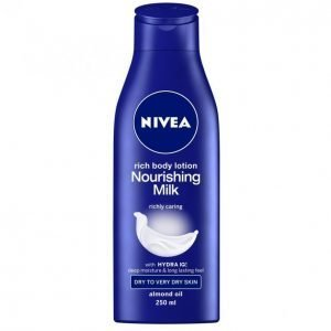Nivea Nourishing Milk Vartalovoide 250 Ml