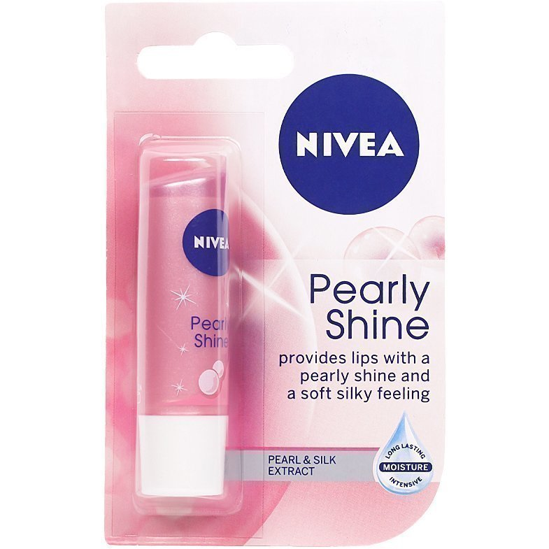 Nivea Pearly Shine  Lip Care SPF10 4