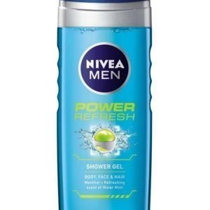 Nivea Power Refresh Shower Gel 250ml