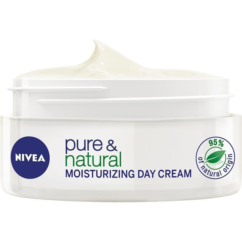 Nivea Pure & Natural Moisturizing Day Cream 50ml