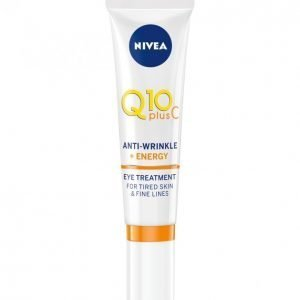 Nivea Q10 Plus Anti-Wrinkle + Energy Eye Treatment Silmänympärysvoide 15 Ml