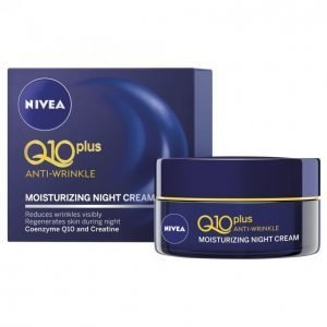Nivea Q10 Plus Anti-Wrinkle Moisturizing Yövoide 50 Ml