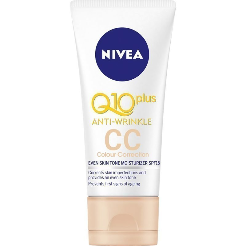 Nivea Q10 PlusWrinkle CC Colour Correction Cream 50ml