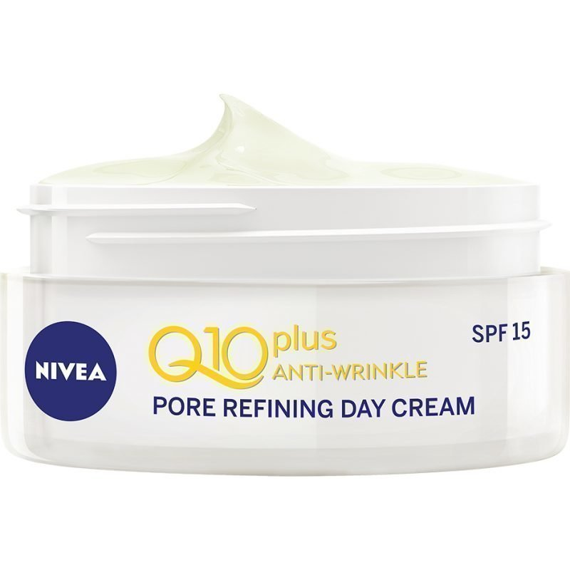 Nivea Q10 PlusWrinkle Pore Refining Day Cream Combination Skin SPF15 50ml