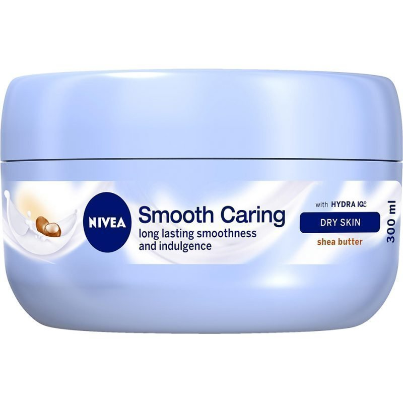 Nivea Smooth Caring Body Cream Shea Butter Dry Skin 300ml
