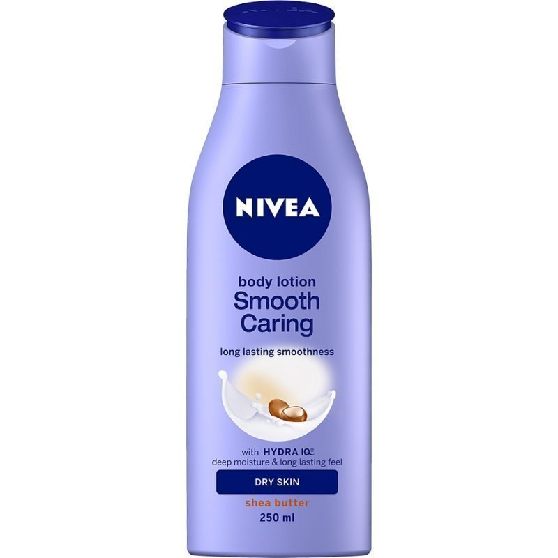 Nivea Smooth Caring Lotion Dry Skin 250ml